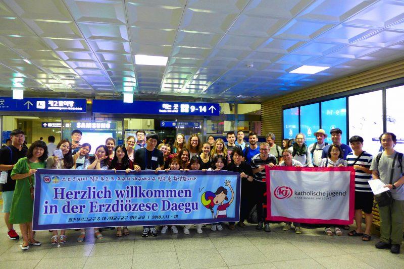 2018-08-10_PA3 KJ-Reise Daegu_Begrüßung_FOTO Katholische Jugend Salzburg