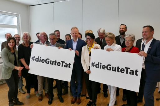 Den ganzen Beitrag zu #dieGuteTat geht an den Start lesen