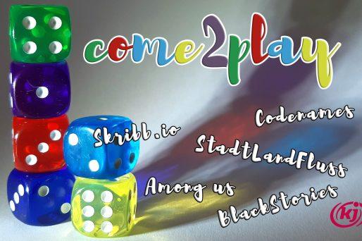 Den ganzen Beitrag zu [Stadt] come2play – Online Spieleabend! lesen