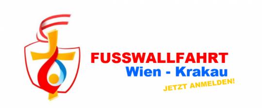 Fußwallfahrt Wien - Krakau. Jetzt anmelden!