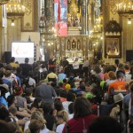 Österreichtreffen in der Dominikanerkirche in Krakau