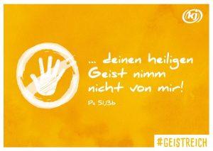 """Freecard """"Heiliger Geist"""""""