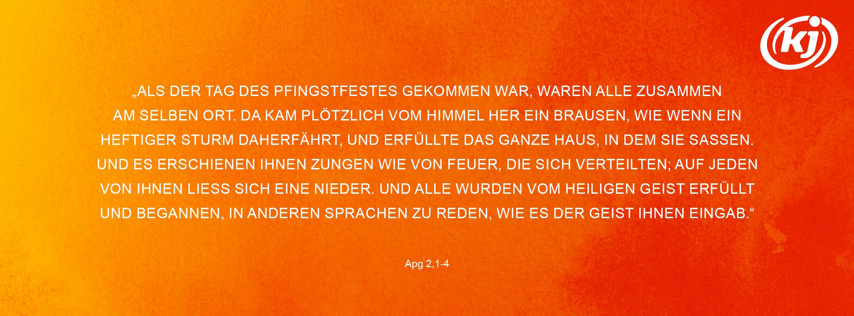 Pfingsten Apg 2,1-4