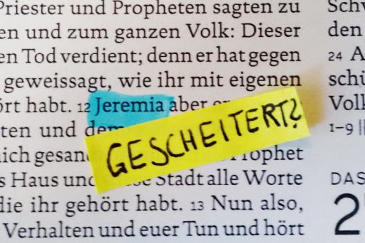 Den ganzen Beitrag zu Jeremia – der gescheiterte Prophet? lesen