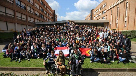 Gruppenphoto Vorsynode der Jugendlichen