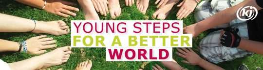 "KJ Sommerbehelf ""young steps for a better world"""