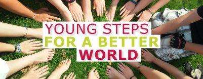 """KJ Sommerbehelf """"young steps for a better world"""""""