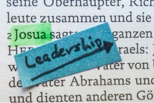 Den ganzen Beitrag zu Josua – vom Personal Assistant zum Anführer lesen