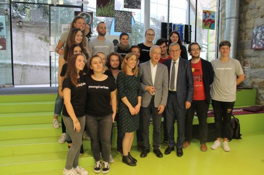 """Den ganzen Beitrag zu """"72 Stunden ohne Kompromiss"""": Bundespräsident Van der Bellen würdigt Engagement Jugendlicher lesen"""