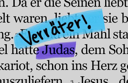 Den ganzen Beitrag zu Judas – Wo ist dein Bruder? lesen