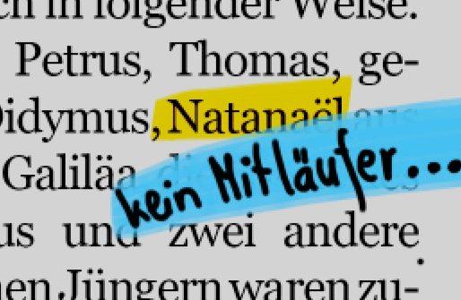 Den ganzen Beitrag zu Natanael – der belesene Skeptiker lesen