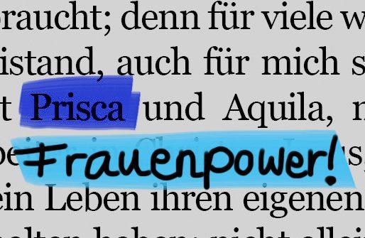 Den ganzen Beitrag zu Prisca – sie schwieg nicht! lesen