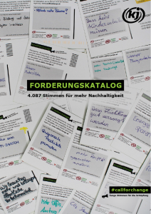 Titelblatt Forderungskatalog Call For Change
