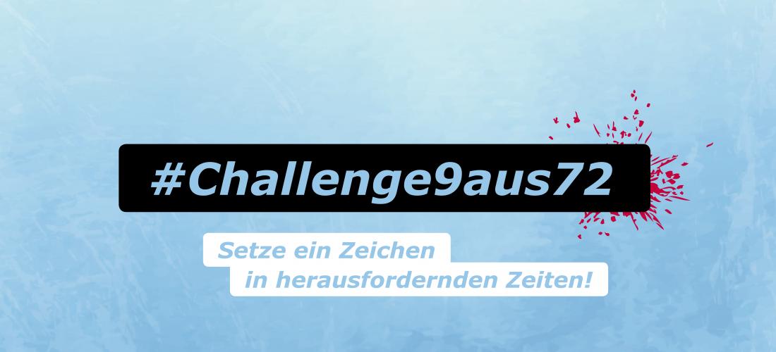#Challenge9aus72 Titelbild